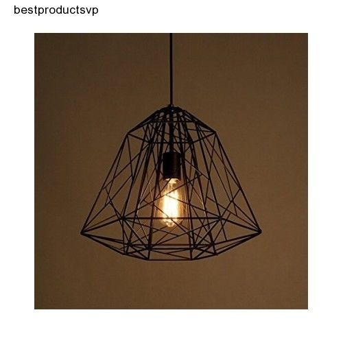 Black metal pendant light modern fixture ceiling hanging kitchen ebay black metal pendant light modern fixture ceiling aloadofball Image collections