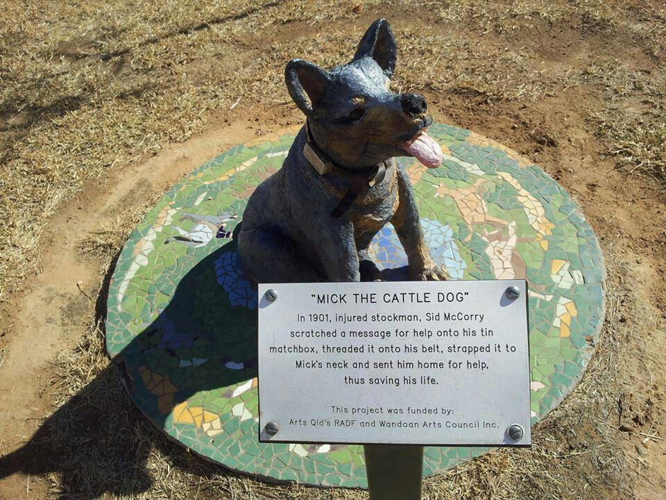 Australian Heritage Series Blue Heeler Dog Stockman Farm Tin Sign