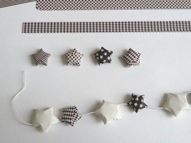 Comment fabriquer des toiles en origami toiles en - Tuto etoile origami ...