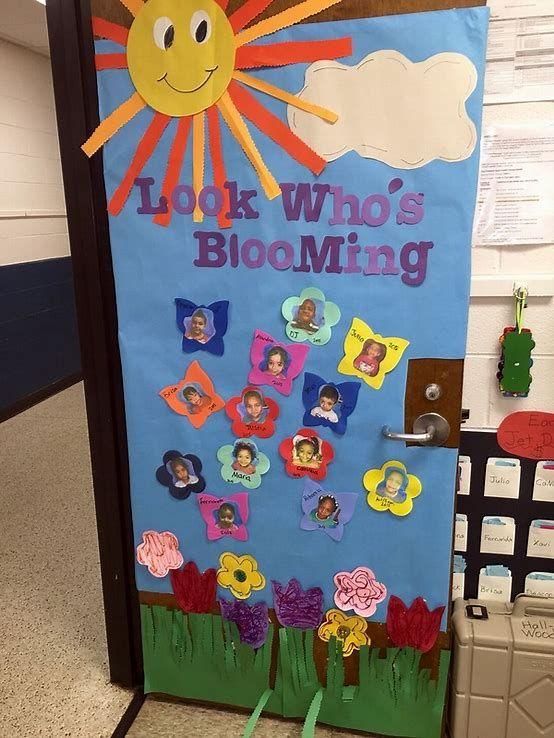 Classroom Decoration Ideas Forjada ~ Image result for spring door decorations classroom class