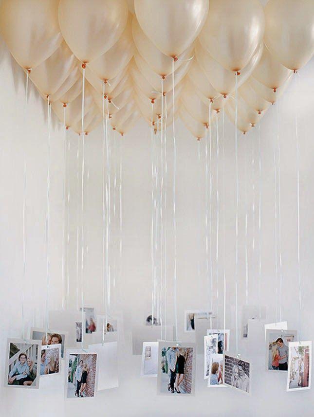 23 ideas sobre decoracin con globos para un cumpleaos - Ideas Para Un Cumpleaos