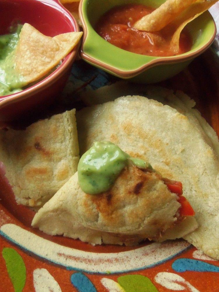 Griddle-Cooked Chicken and Black Bean Empanadas - Hispanic Kitchen