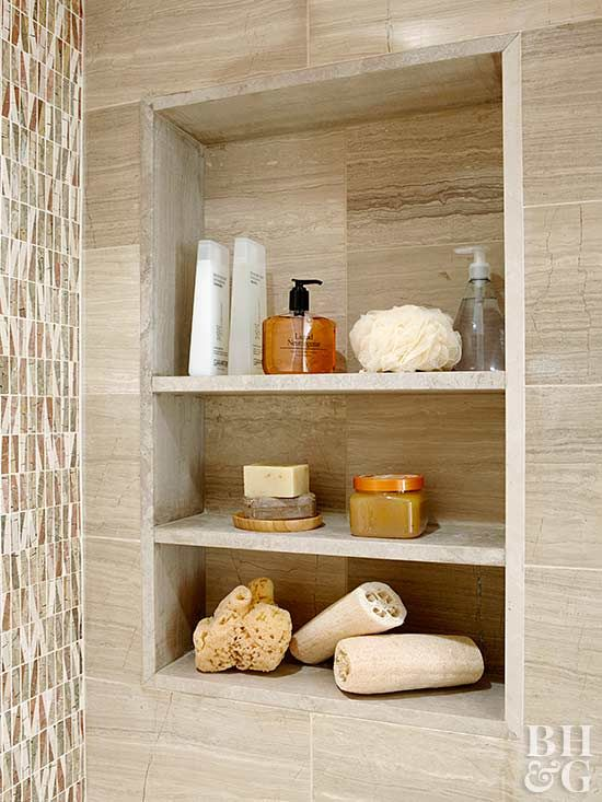 How to Build a Recessed Wall Shelf | Remolding ideas | Pinterest ...