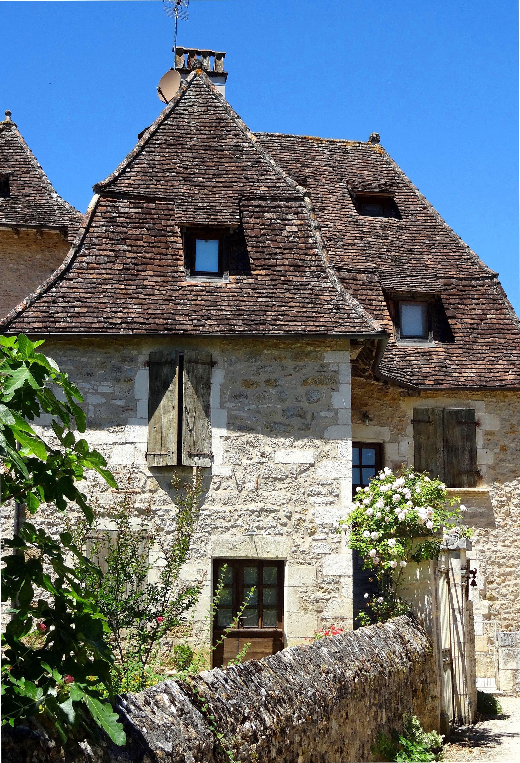 Architecte Paysagiste Midi Pyrénées carennac, france © gt | habitat, architecture, maisons anciennes