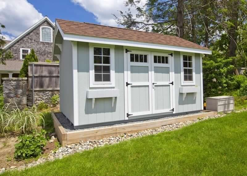 Build Your Own 10 X 20 Saltbox Roof Shed Diy Plans Fun To Build Save Money Buildyourownshed Building A Shed Shed Design
