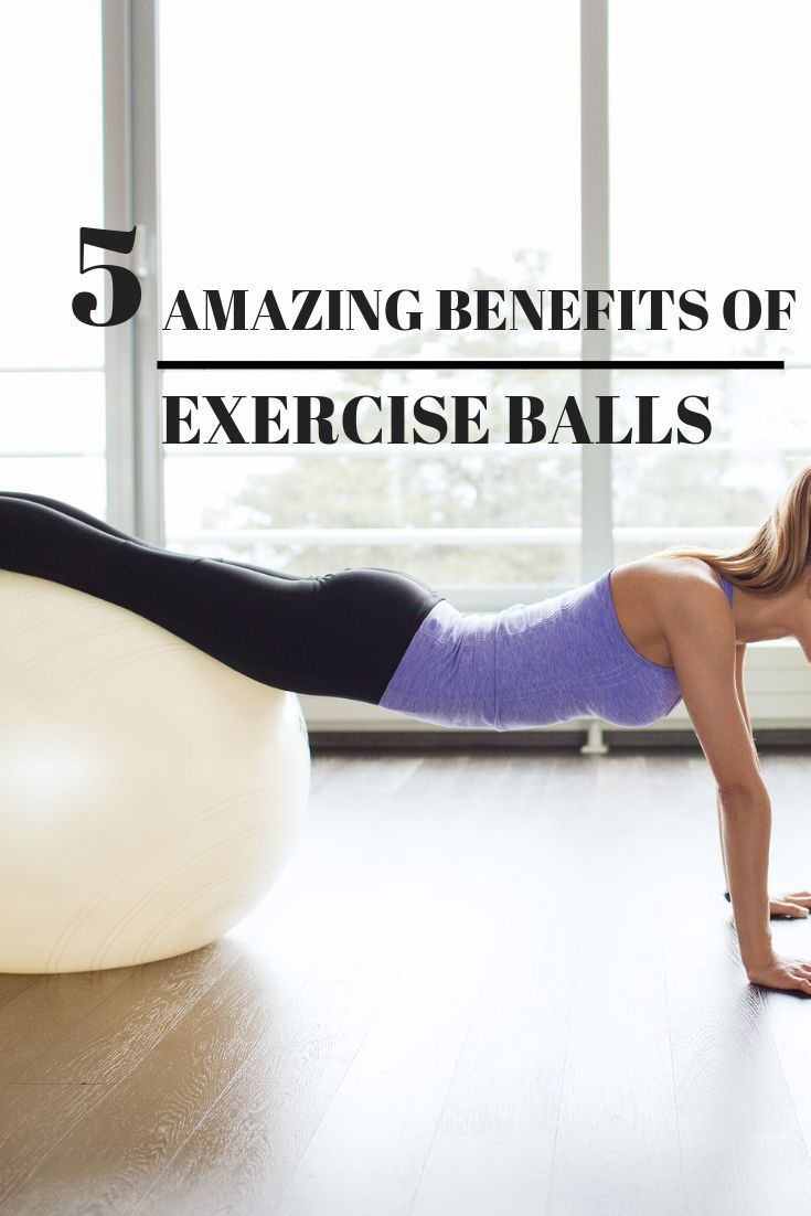 The Best Exercise Ball For Workouts (And Office) #exerciseball