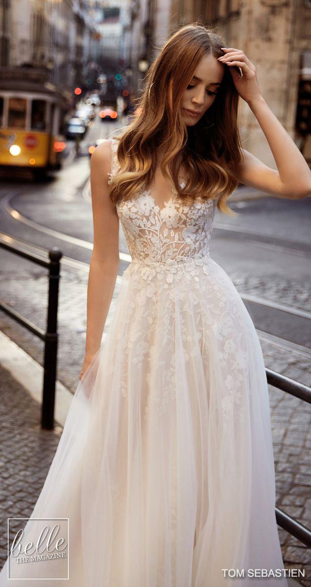 Tom Sebastien Wedding Dresses 2019 Belle The Magazine Trendy Wedding Dresses Wedding Dresses Wedding Dresses Lace