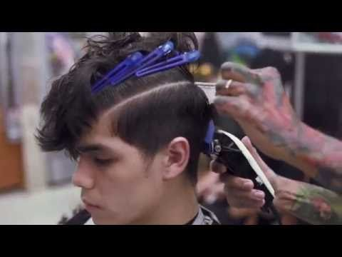Strange Vidal Sassoon Mens Hair Cutting Techniques Youtube Videos Hairstyles For Men Maxibearus