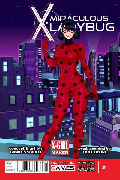 Miraculous Ladybug! by PrincessMoonCat ~ Marvel X-Men ... X Men Girls Dress Up