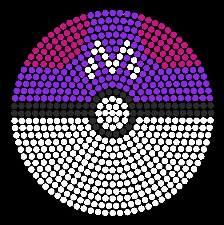 Master Ball Bead Pattern