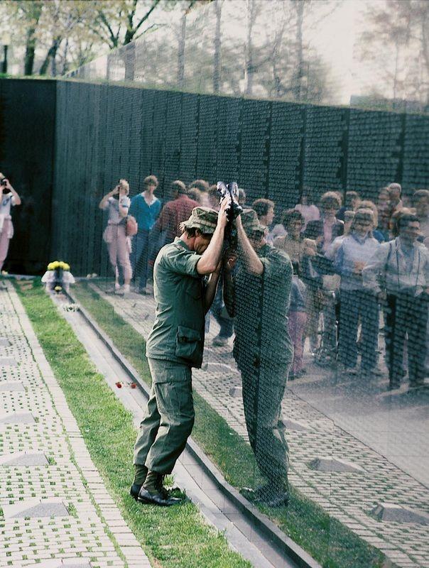 Vietnam Veterans Memorial designed by Maya Lin