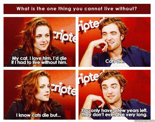 """""""The whole Twilight thing aside, Robert Pattinson is a ..."""