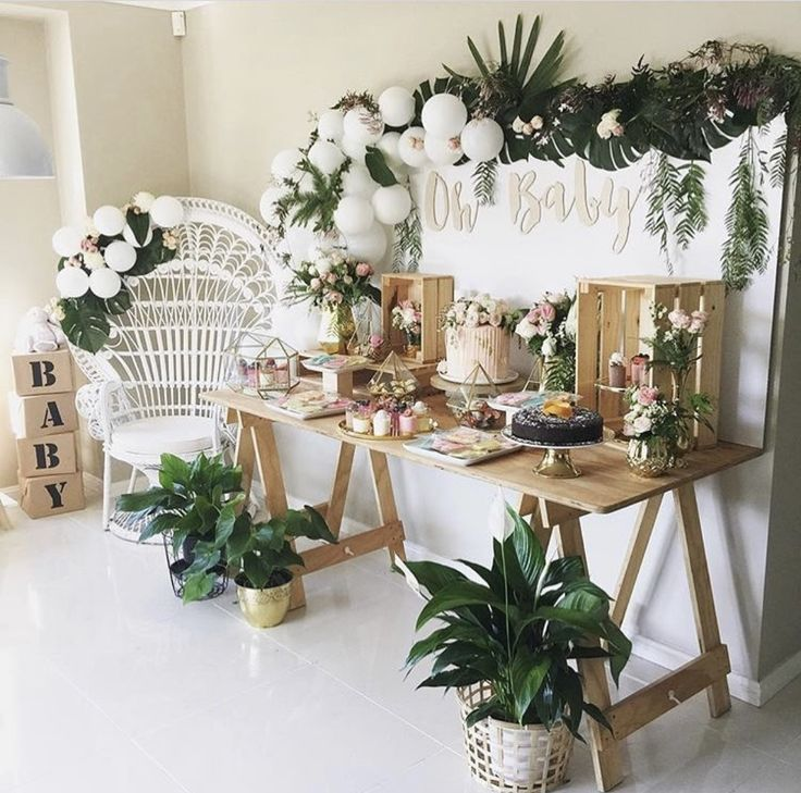 Baby Shower Ideas | Natural Baby Shower | Nature Baby ...