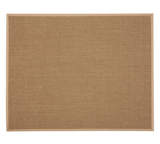 Color Bound Earth Sisal Rug Chino Natural Fiber Rugs