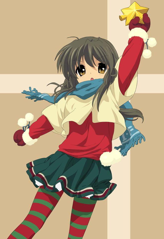 Fuko ibuki merry christmas clannad