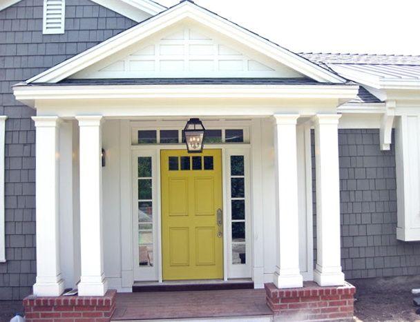 Front Door Colors For White House 14 front door paint colors for white house with pictures | http