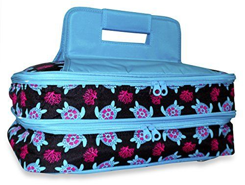 Ever Moda Thermal Insulated Casserole Carrier Bag with 2 ...