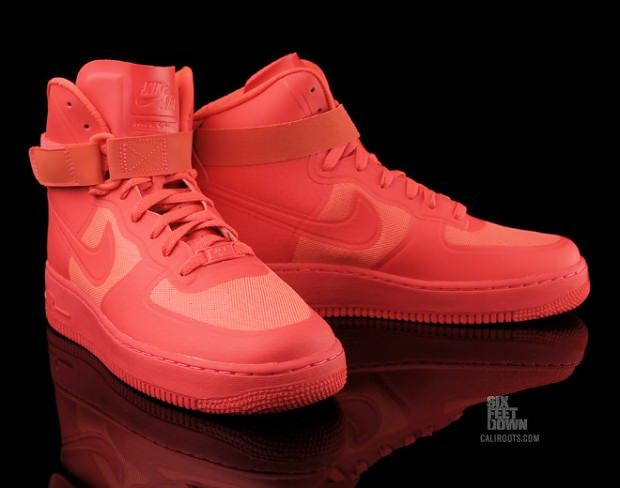 Nike Air Force 1 Haut Acheter Rouge Solaire Hyperfuse Icône Maintenant