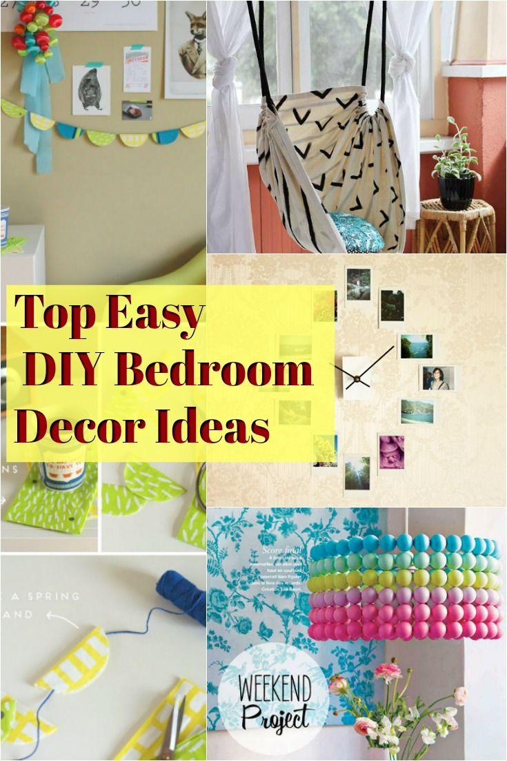 Top 5 Diy Bedroom Decor Ideas To Try Today Diy Projects For Bedroom Diy Bedroom Decor Bedroom Diy