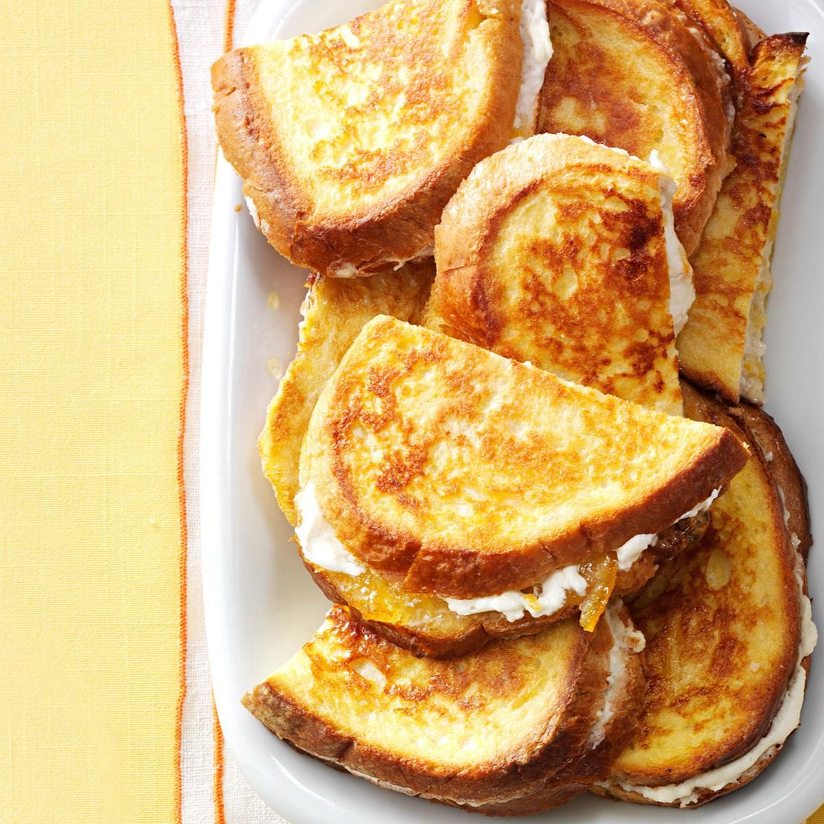 Marmalade French Toast Sandwiches French Toast Sandwich Toasted Sandwich Recipes Toast Sandwich