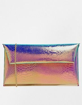 New Look | New Look Mermaid Clutch Bag at ASOS | Clutch bag