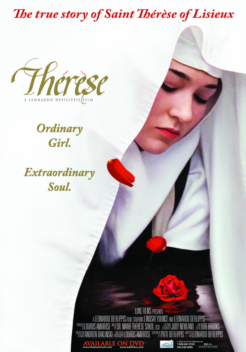 """The official poster for """"Therese""""."""