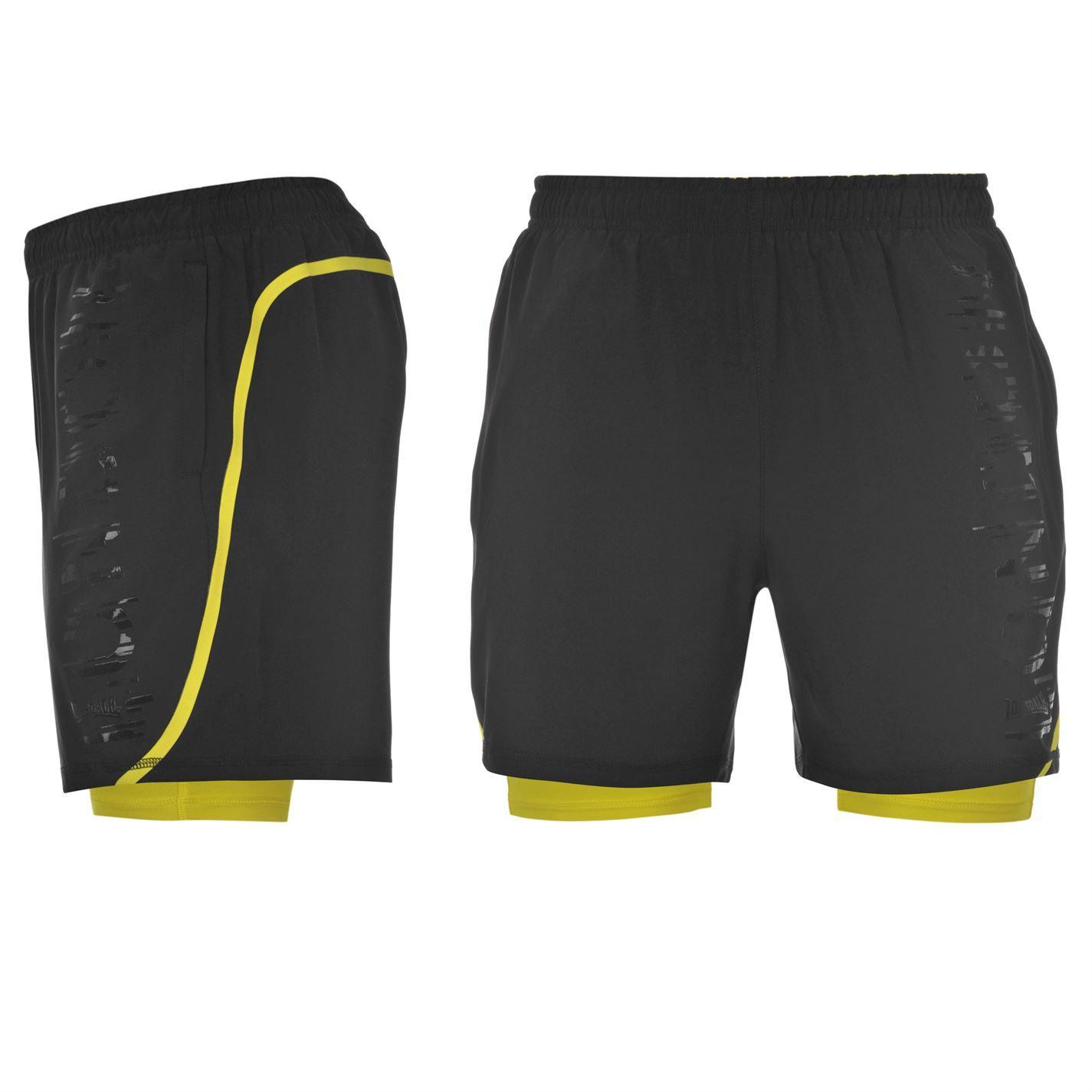 2 in 1 shorts men's