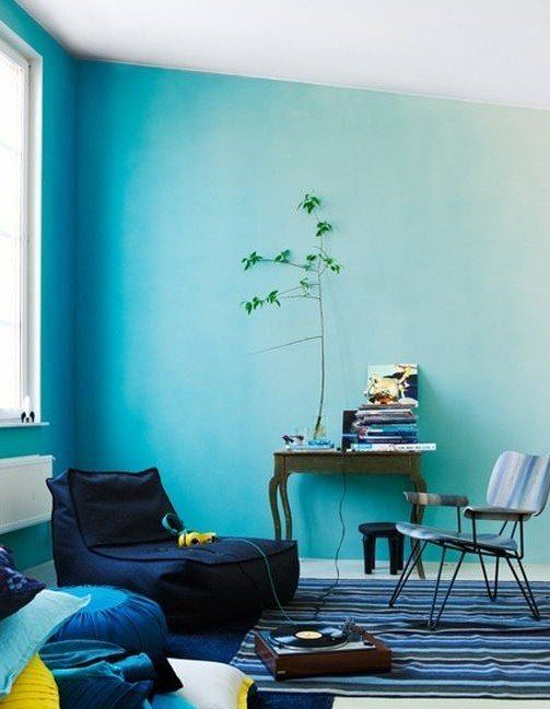 Wand-Streichen-Ideen und Techniken für moderne Wandgestaltung - ideen fur wohnzimmer streichen