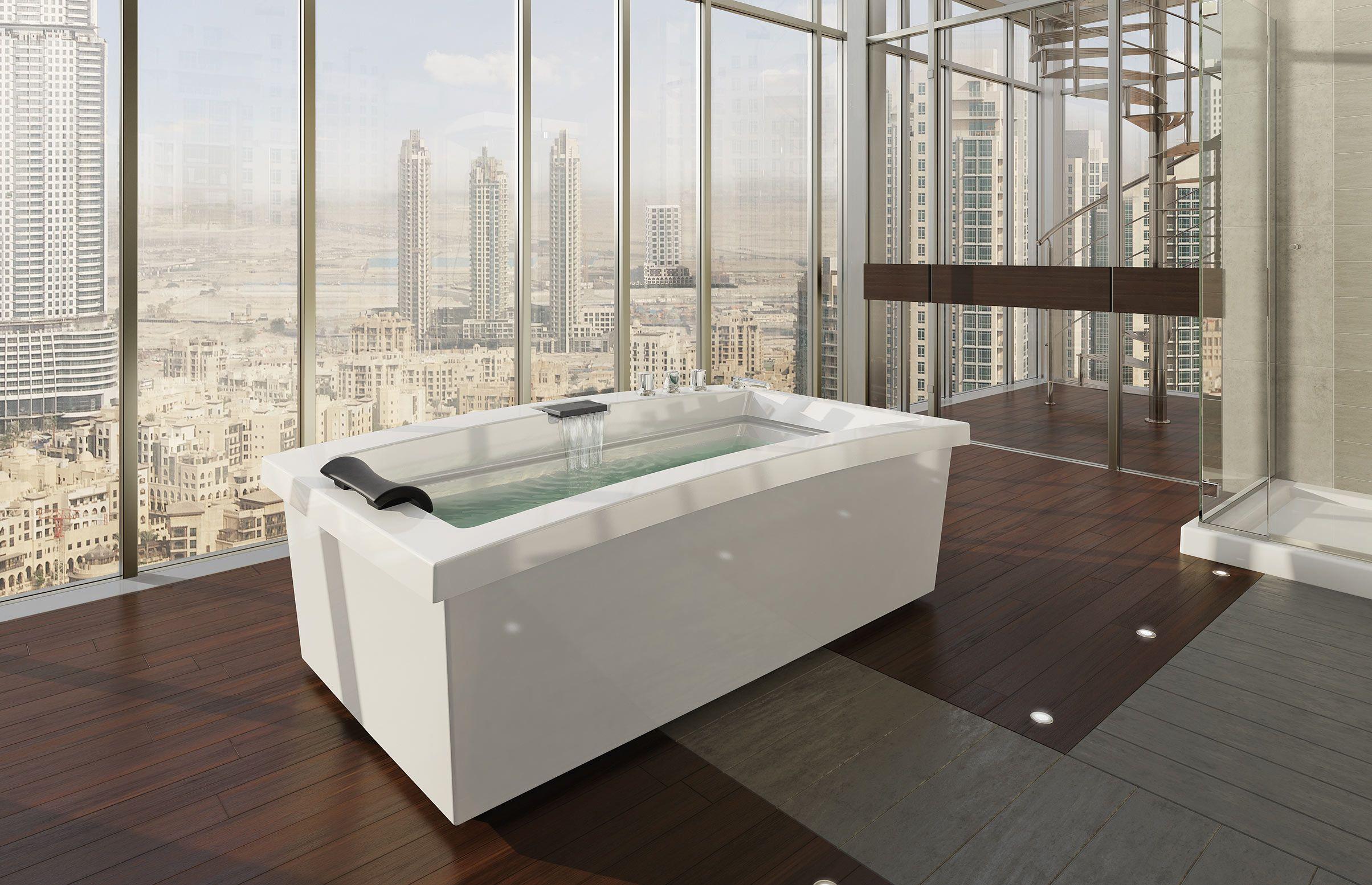 Urban F Freestanding bathtub - MAAX Collection | New home ...