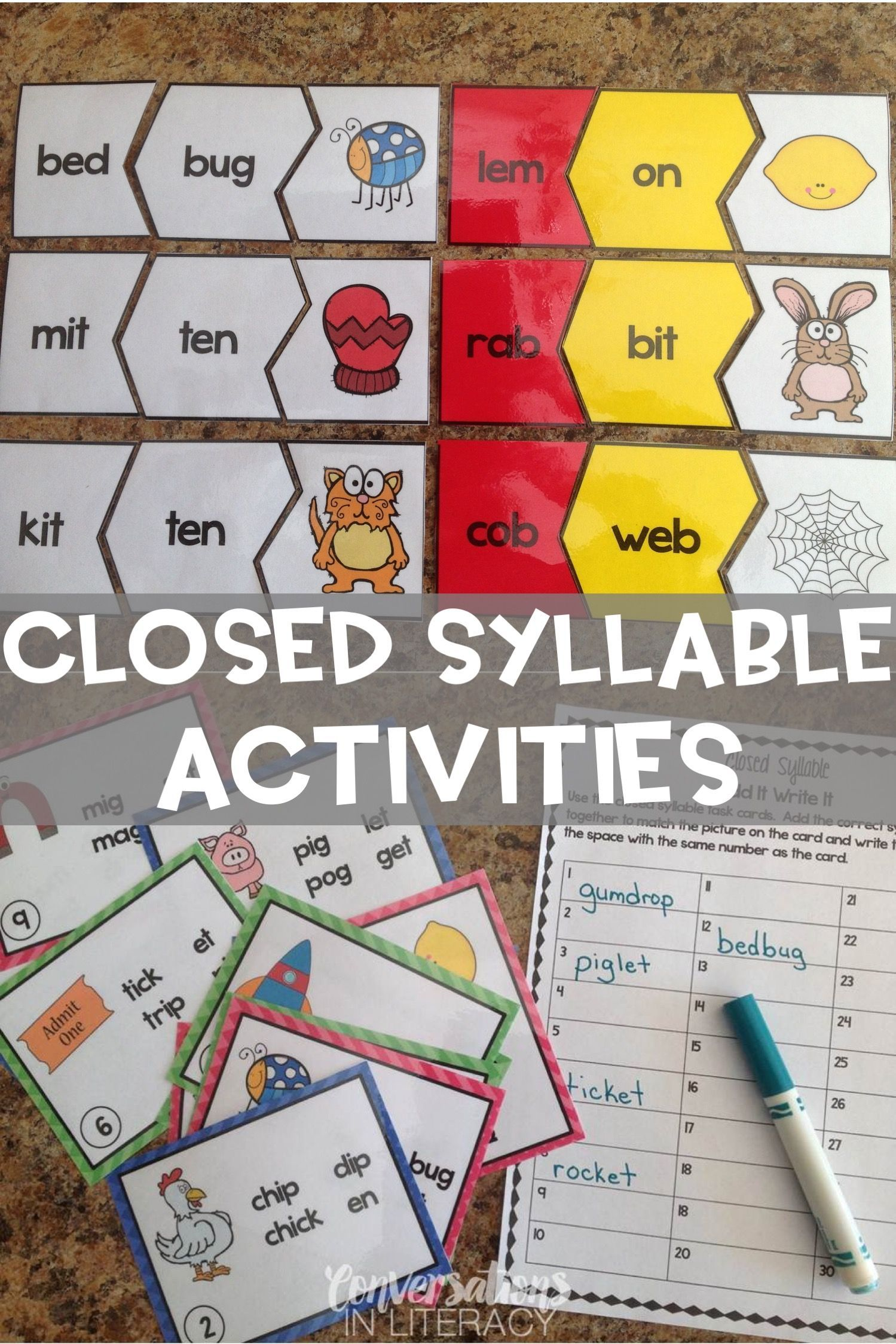 Premise Indicator Words: Closed Syllable Multisyllabic Words: Not A Puzzle Anymore