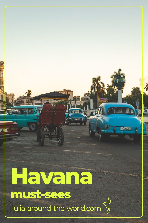Havana is a time travel into another world. See in my travelogue what you shouldn't miss.  #havana #havanacuba #havanatravel #beautifulhavana #havanasightseeing #havanamustsees #cuba #cubatravel #beautifulcuba #havanacuba #havanaarchitecture