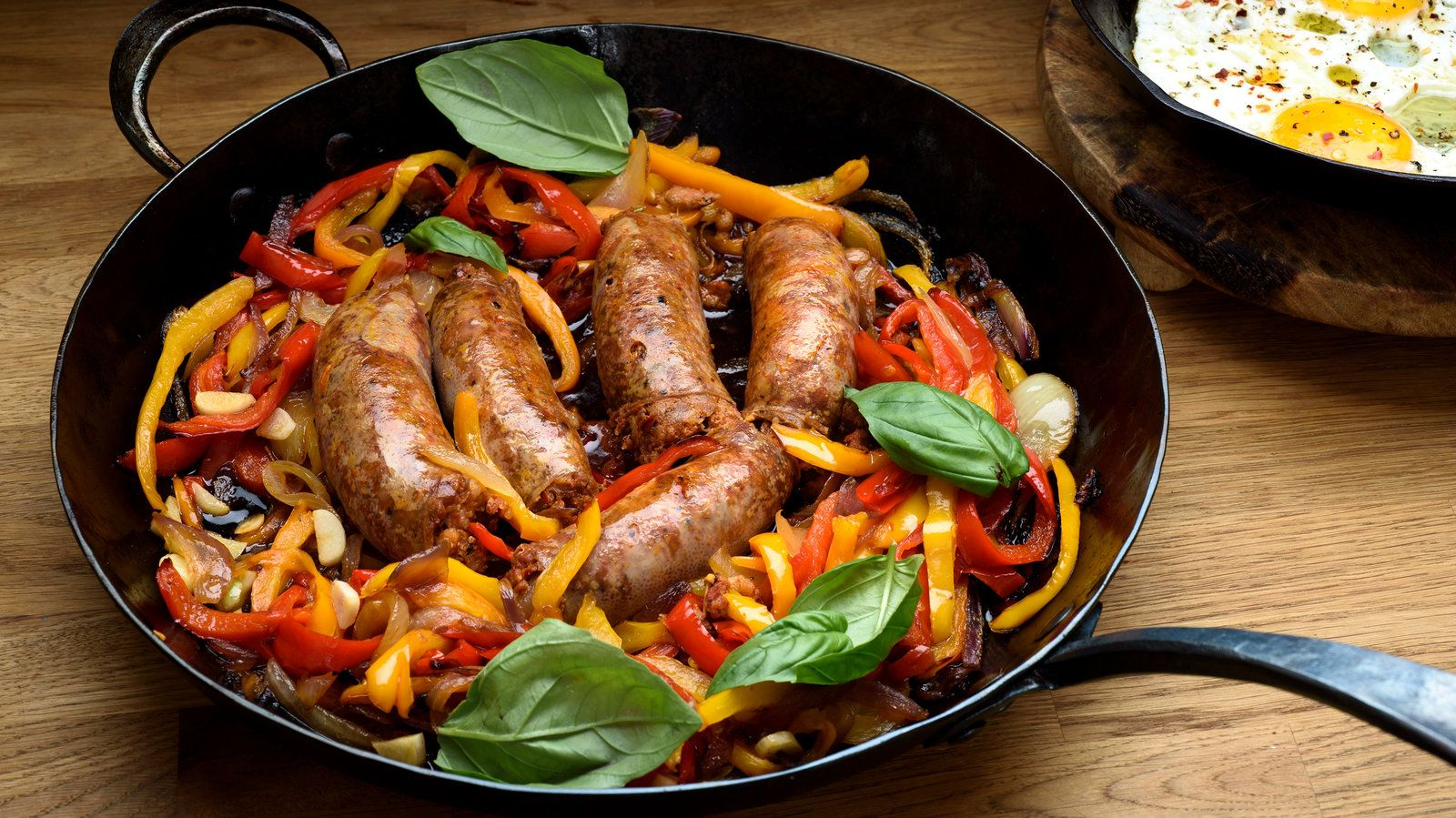 Sausage With Peppers and Onions Recipe NYT Cooking