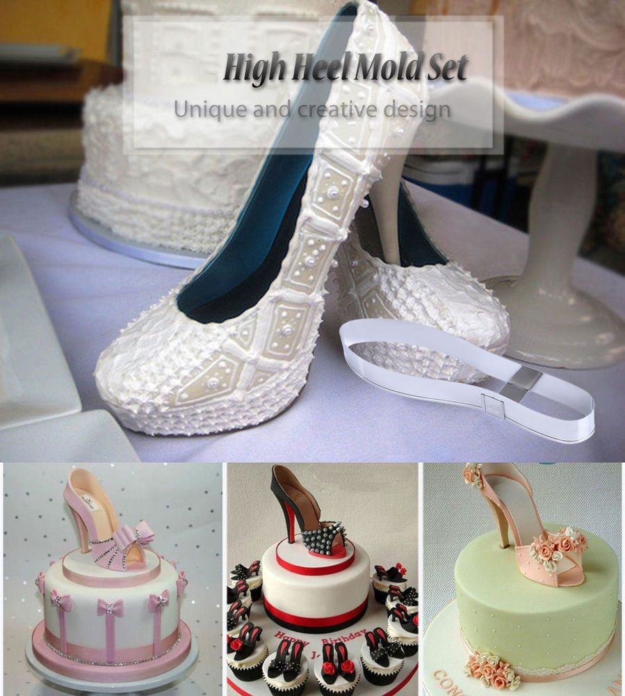 SMALL 3D HIGH HEEL mold Chocolate Candy cake toppers mothers day stiletto