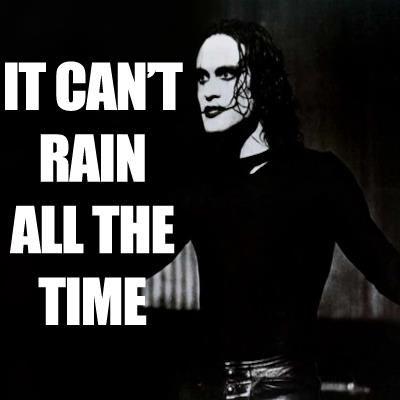 """A favorite film of mine """"The Crow"""". my article just got featured on hub pages."""