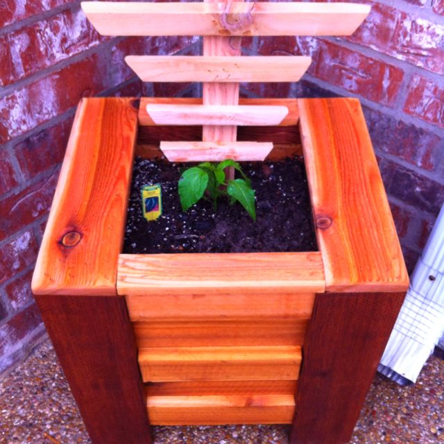 home made cedar vegetable planter pallet projects on easy diy woodworking projects to decor your home kinds of wooden planters id=74425