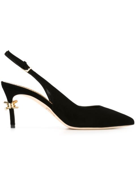Good-Looking Womens Dsquared2 Barbed Wire Detail Slingback Pumps Sale Online