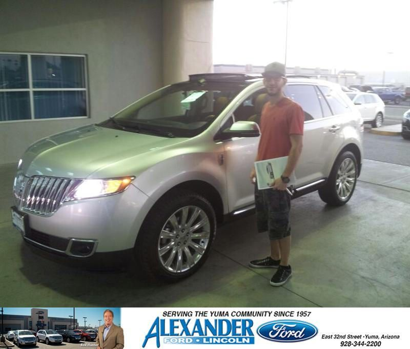 Congratulations To Nick Najor On Your Lincoln Mkx Purchase From