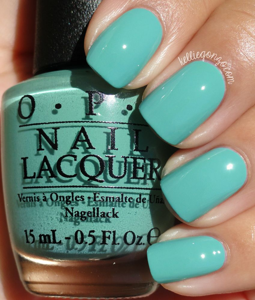 Opi Infinite Shine You Can Count On It Opi Fall 2014 Nordic Collection Swatches Review Nail Polish Opi Nail Colors Green Nails