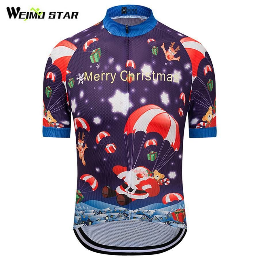 Christmas Trees Weimostar Men Cycling Jersey Team Racing Bike Cycling  Clothing Men Cycling Weimostar 794555fbb