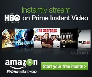 Instantly stream HBO on Amazon Prime Instant Video - One Month Free!
