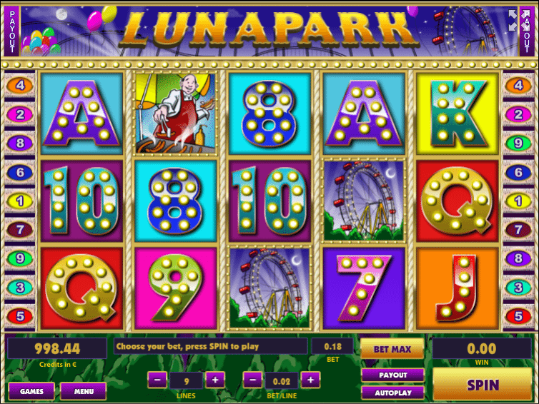 Lunapark » Jocuri Pacanele ca la Aparate Online Gratis