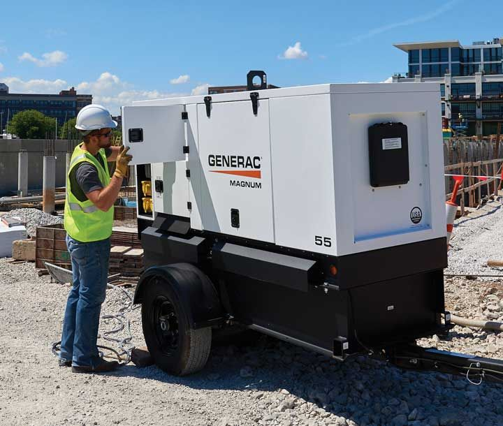 Power Saver: Enjoy these Spring Tune-up Tips for Portable Generators #construction #compact