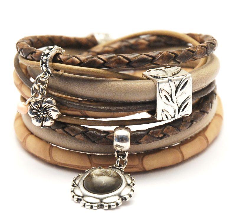 Wikkelarmband dames JN2195   BRACELETS   Sieraden, Armband
