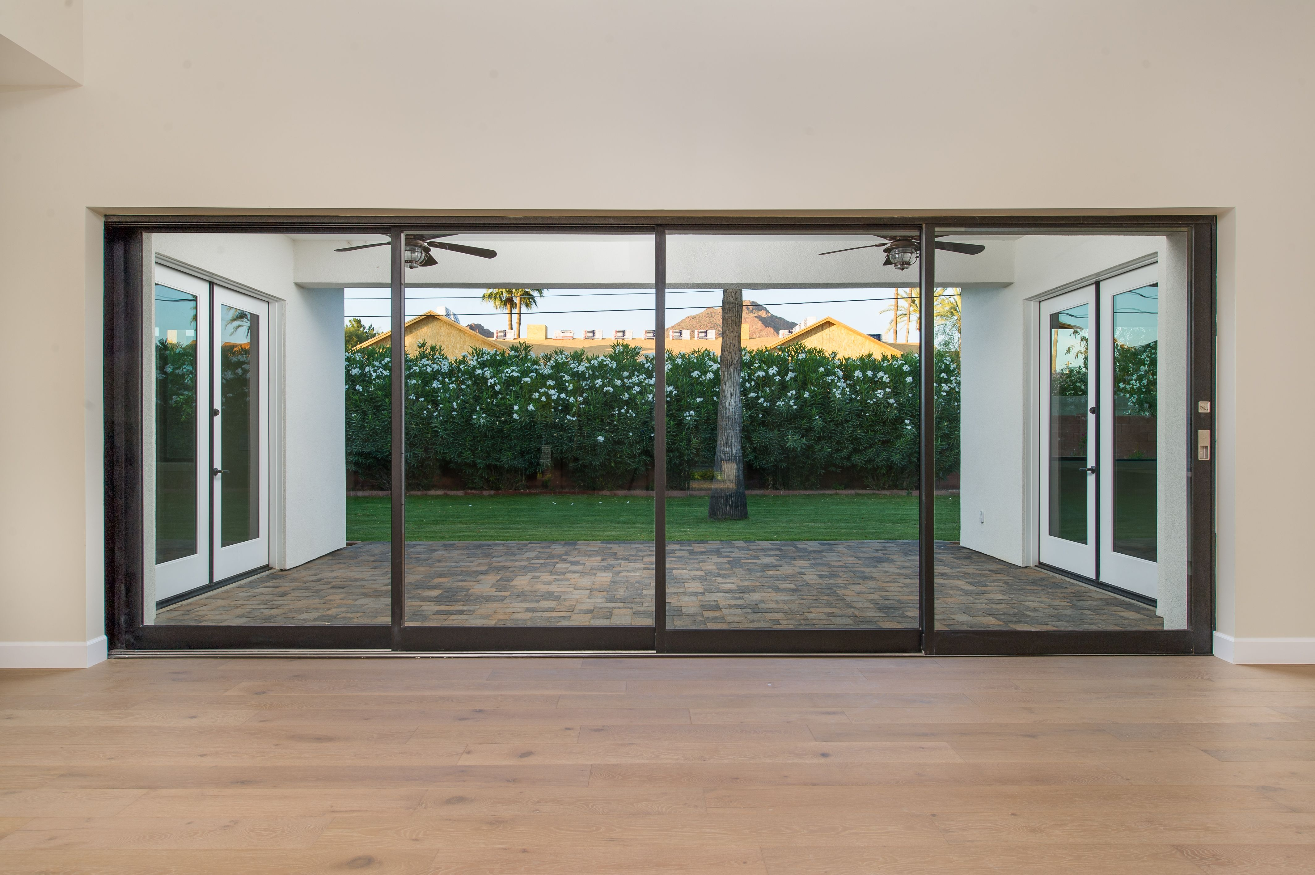 Arcadia Smart Homes   Model Home. 20u0027 Foot Sliding Glass Patio Door  Retracts Into Pocket Creating Seamless Integration Between Indoor And  Outdoor Space!
