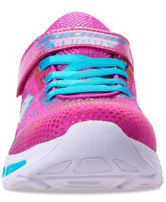 03bcadaa3621 Skechers Little Girls  S Lights  Litebeams - Gleam N  Dream Light Up  Running Sneakers from Finish Line - 2