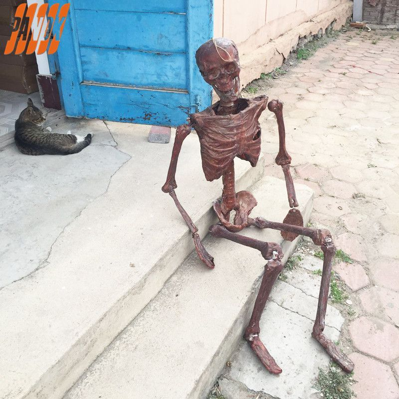 Halloween Decorations Mummy Halloween Props Realistic Skull bar