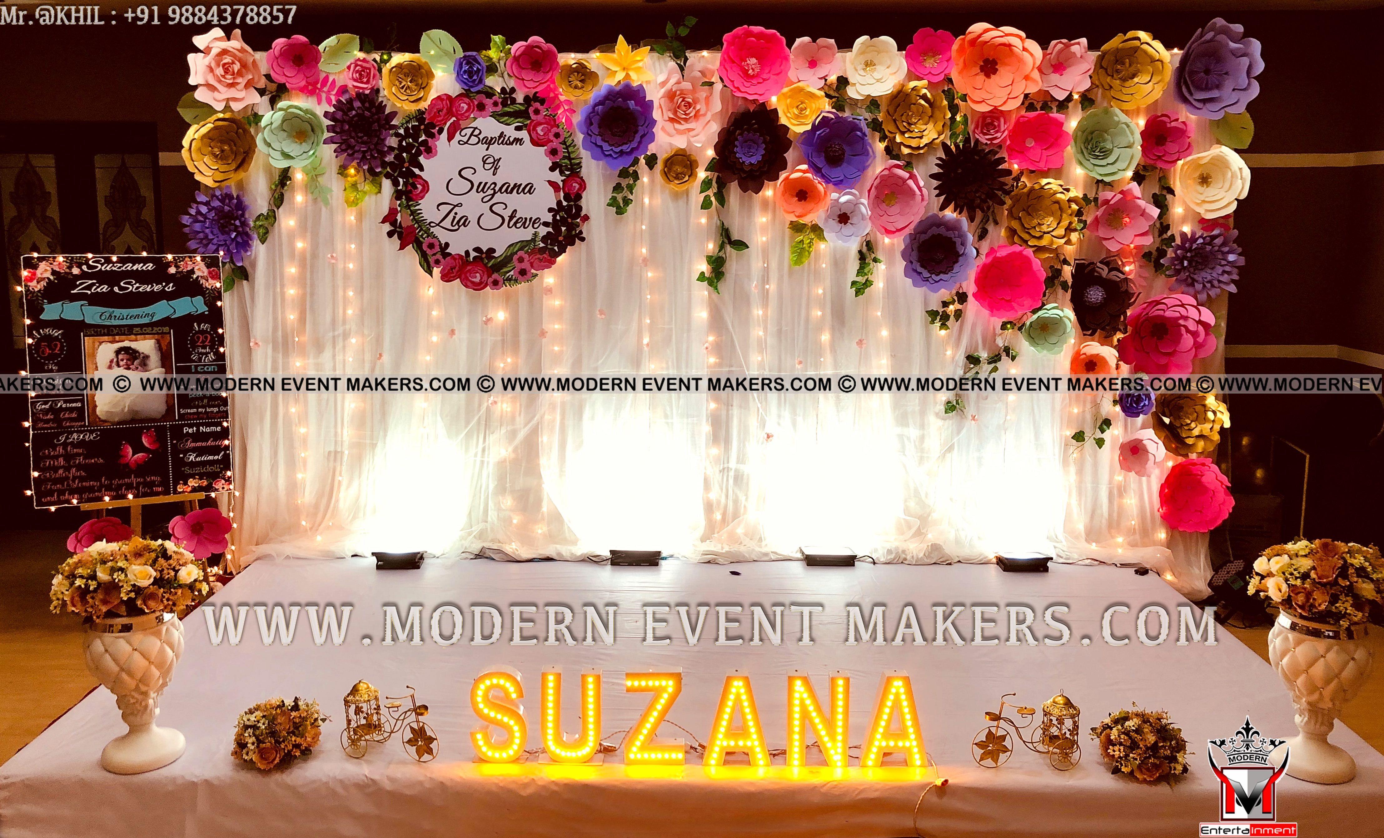Vintage Floral Theme Decorators In Chennai 9884378857 Akhil7