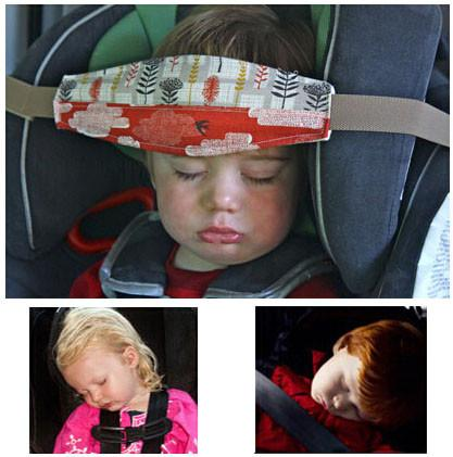 15m 59 Baby Car Seat Headrest Sleeping Head Support Pad Cover For Kids Travel Interior Accessories