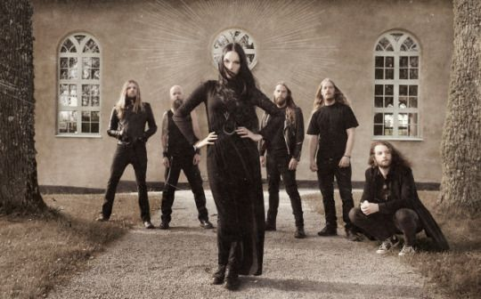 Serpentsaints Gothic Metal Band European Tour Doom Metal Bands