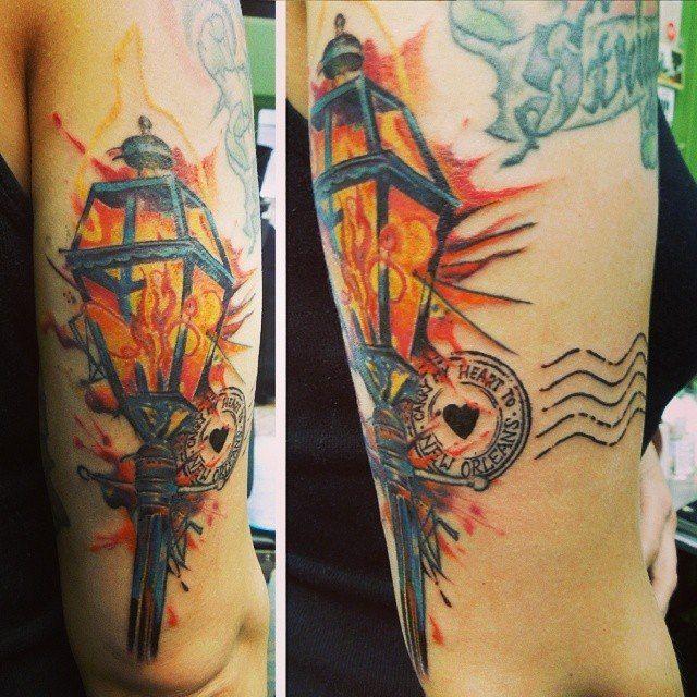My New Orleans Tattoo Inked Tattoos New Orleans Tattoo Tattoo